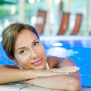Entspannung im Thermalwasser