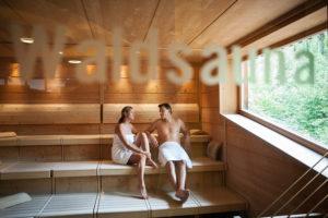 Wald-Sauna in der Quellenoase